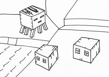 Magma Cube & Ghast