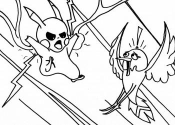 Pikachu Attacks