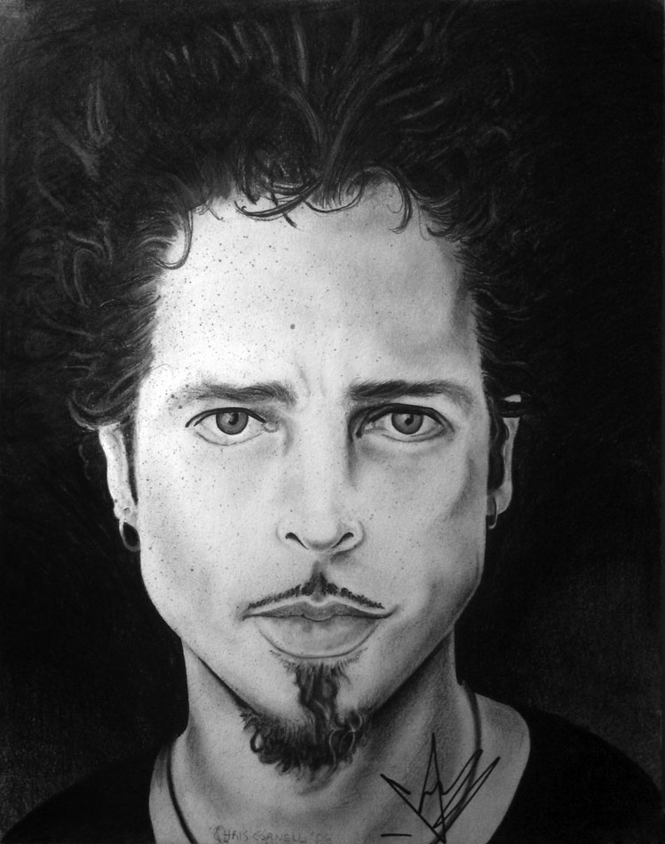 Chris Cornell Portraits Art In Mad Lines