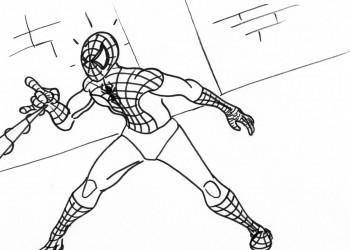 Spiderman Web-shooting