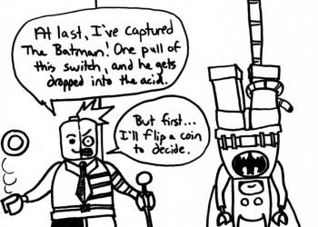 Two-Face Captures Batman